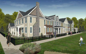 Lancaster townhomes at Devon Creek