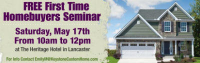 First time home buyer seminar