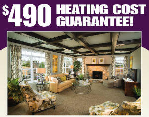 $490 Heating Guarantee