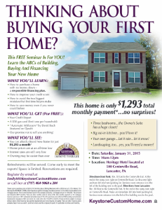 First Time Buyer Seminar 2015