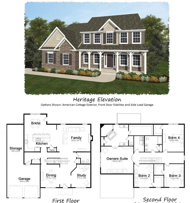 Keystone homes floor plans for Home builders in central pa
